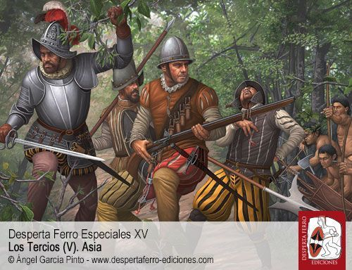 Los Tercios (V). Asia, ss. XVI-XVII, Desperta Ferro