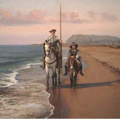 El Quijote en Barcelona