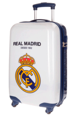 Maleta del Real Madrid de 55 cm. de altura