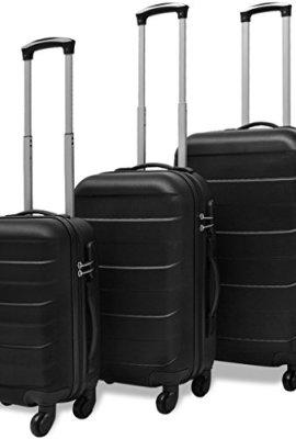 Conjunto de tres maletas rígidas Festnight.