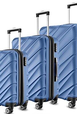 Set de tres maletas Shaik.