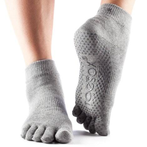 Calcetines Yoga Sadhana gris la tienda de yoga