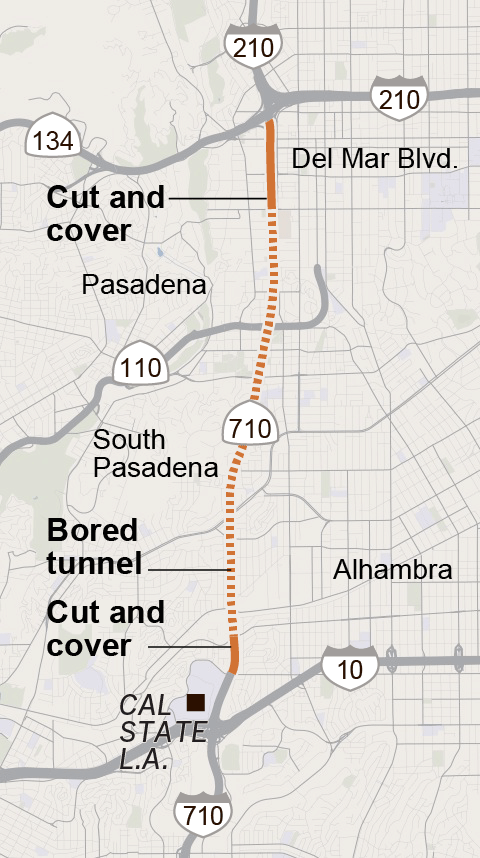 Can a $5.4-billion tunnel plan fix the notorious 710 gap