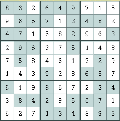LA Times Daily Sudoku June 3 2019 Answers - LATimesCrosswordAnswers.com