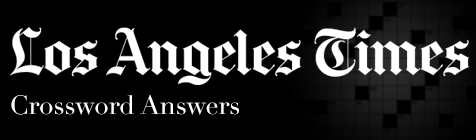 La Times Crossword Answers La Times Crossword Answers