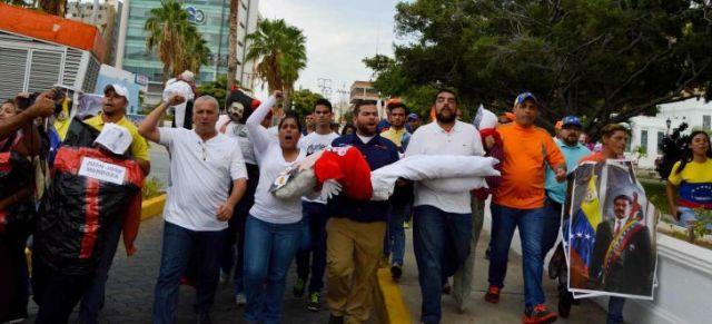 Venezuela steht am Rande eines Bürgerkriegs