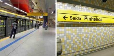 Estação Metrô Pinheiros