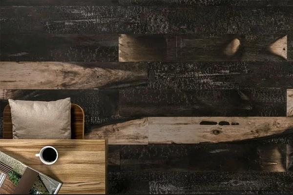 Parece madeira mas não é