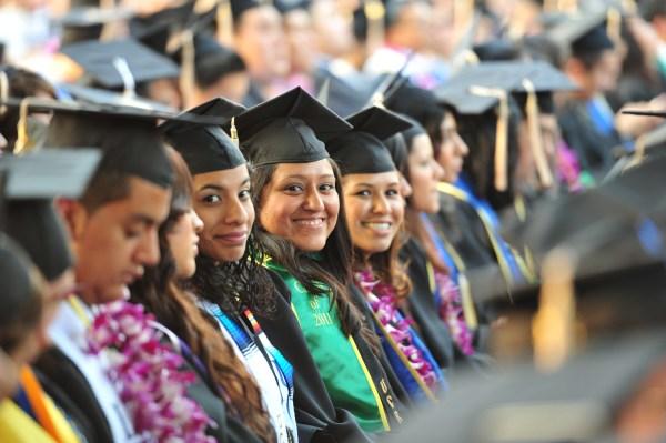 Takes Hispanic-serving Institution