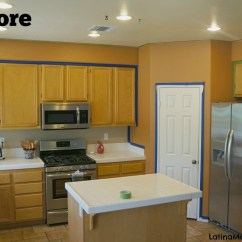 How To Clean Grease From Kitchen Cabinets Redo Countertops Refinish Your - Latina Mama Rama