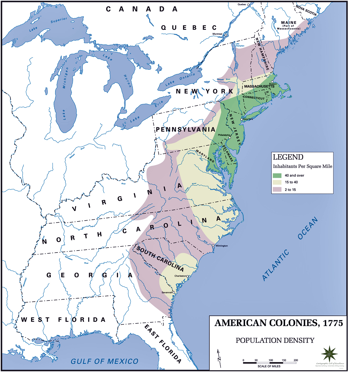 Maps Of The American Revolution