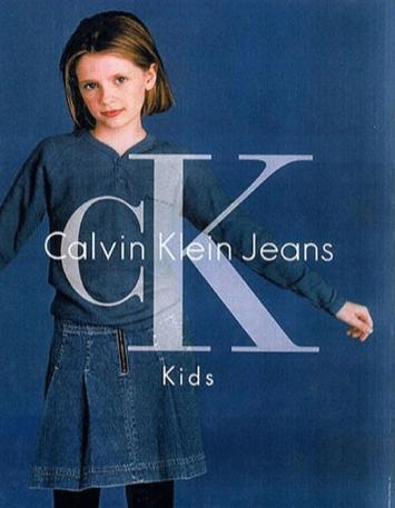 CK Calvin Klein Jeans Ad-Alexis Bledel Young Latina Model