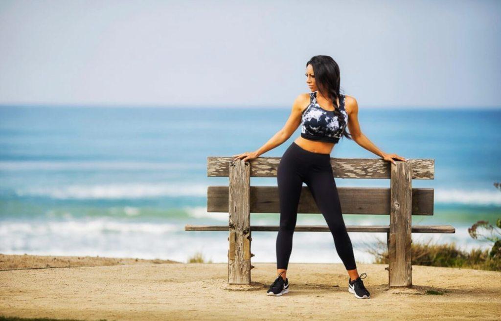Latina Fitness Guru Angela Mallory