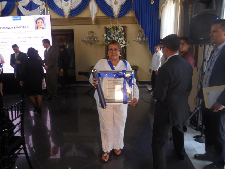 Cordelia, Teacher of the Year Award