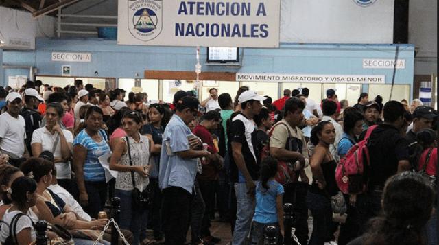Nicas buscan asilo