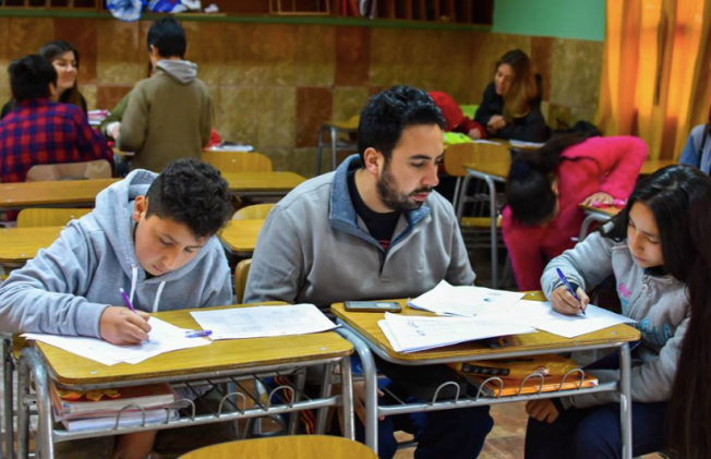 voluntarios de tutoria