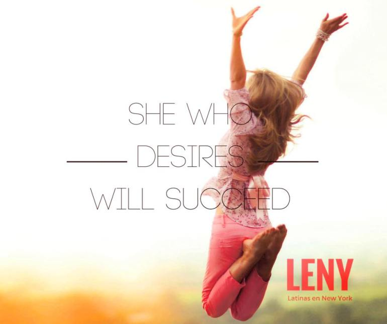 She Who Desires Will Succeed