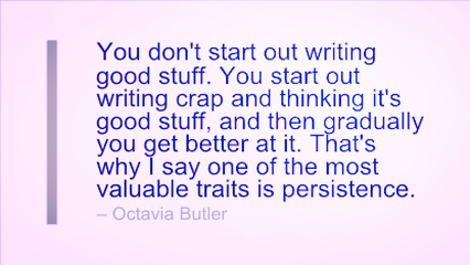 Writing Quote - Getting Better at Writing