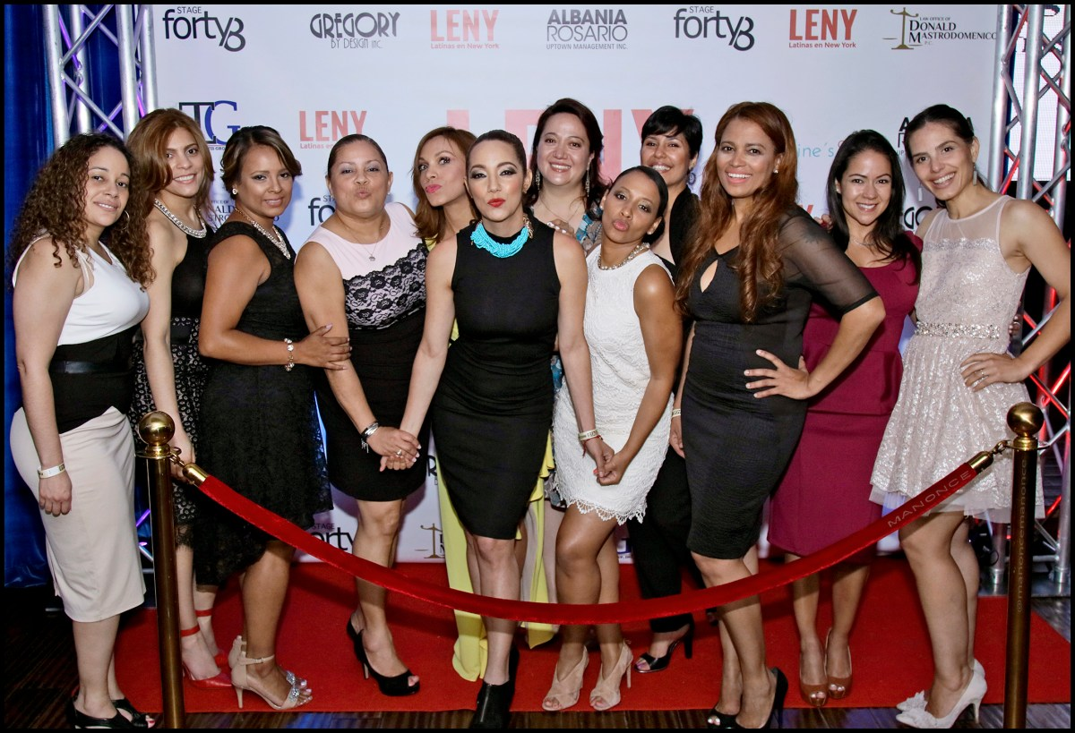A memorable festive night - Latinas en New York Launch and Nomination Event!