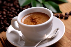 Organo Gold cup of coffee