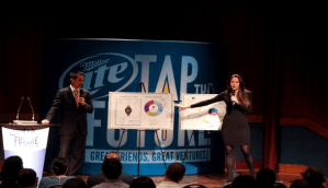 Participants at the Tap the Future competition