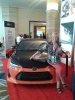 How do I look in this magnificent Scion? #VayamosJuntos @Toyota