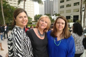 With Christie and Piera from Latino Mom Bloggers