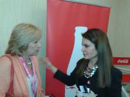 Nelly Galan talking to LatinasInBusiness.us