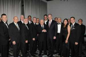US Senator Casey and business owners honoring Borinqueneers veterans at the GPHCC
