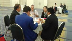 Business matchmaking sessions at #HispBizExpo2015_1
