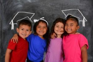 Hispanic children graduate from college