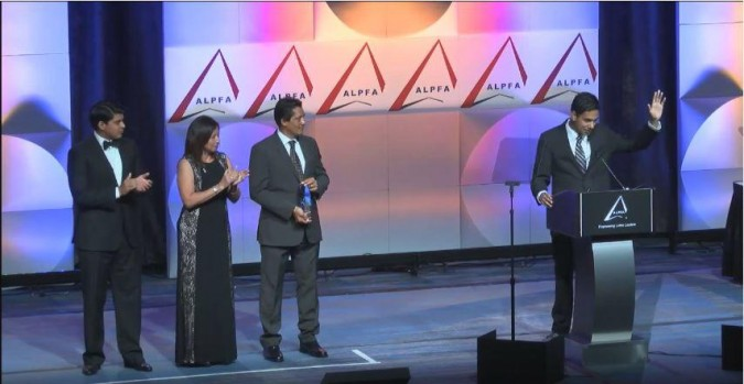 Student of the Year Award ALPFA Convention 2015