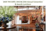 Save the Date SHCCNJ Annual Convention