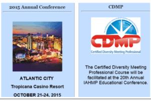 PROMOTING DIVERSITY IN THE MEETINGS & HOSPITALITY INDUSTRY IAHMP announce