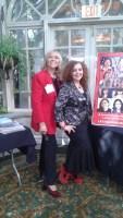 Susana G Baumann with Red Shoe Movement leader Mariela Dabbah Latina entrepreneurs