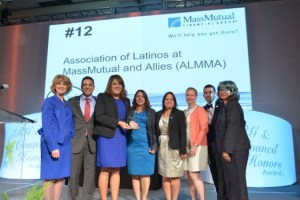 MassMutual ERGs ALMMA receives ERGs and Councils Honors Award 2015
