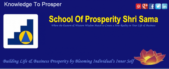 School of prosperity banner