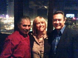 Jim Estrada, author and ethnic marketing practitioner, Susana G Baumann, LatinasInBusiness. us Editor-in-Chief, and Don Daniel Ortiz, award-winning author and TV Host of American Dream Latin Souls