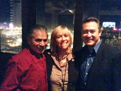 Jim Estrada, author and ethnic marketing practitioner, Susana G Baumann, LatinasInBusiness. us Editor-in-Chief, and Don Daniel Ortiz, award-winning author and TV Host of American Dream Latin Souls