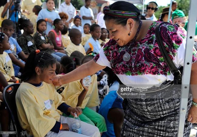 Rigoberta Menchu Nobel Peace Prize