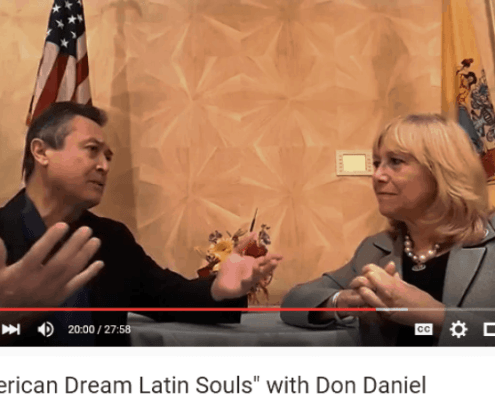 Susana G Baumann interview with Don Daniel Ortiz for American Dream Latin Souls on YouTube