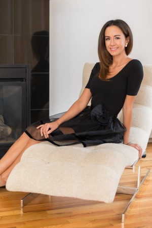 Latina entrepreneur Francesca Kennedy, founder of Ix Style
