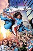La Borinquena Superheroe creation that contributes to Puerto Rican students' scholarships