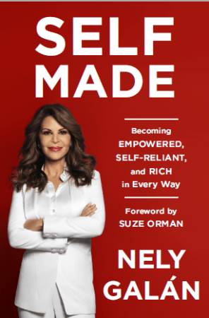 Nely Galan launches her first book Self Made.