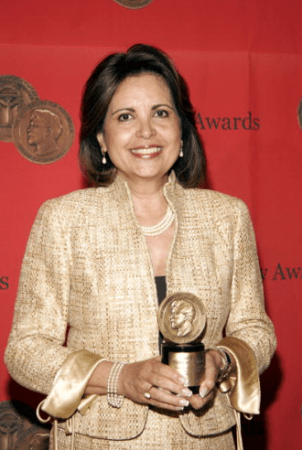 Ivelisse Estrada receives Peabody Award 2008 Credits: The Peabody Awards