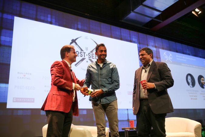 Chamath Palihapitiya at 2016 Post Seed Conference. venture capital