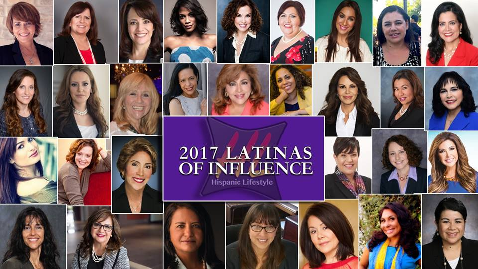 2017 Latinas of Influence by Hispanic Lifestyle personal brand