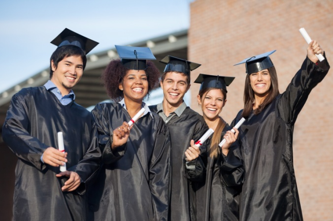 college graduates female leadership