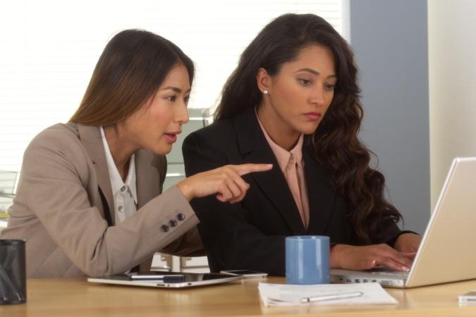 female leadership women helping each other
