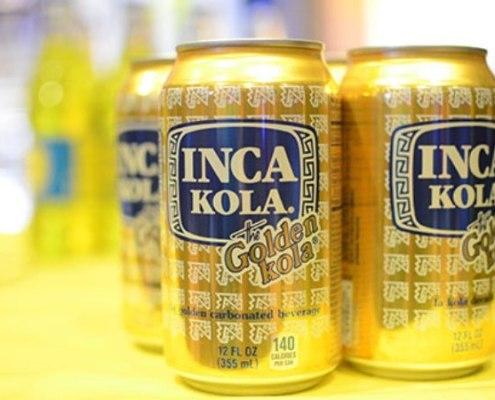Peruvian beverage Inca Kola